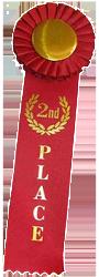 2nd place ribbon