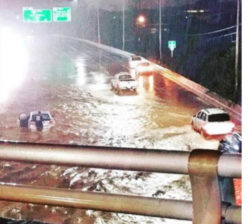 Flooded road 24Jul2016