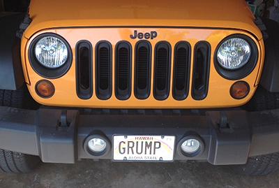 Grump Plate